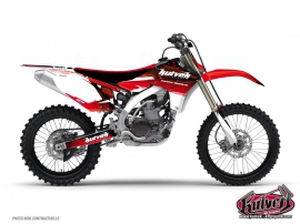 Kit Déco Moto Cross Slider Yamaha 250 YZ UFO Rouge