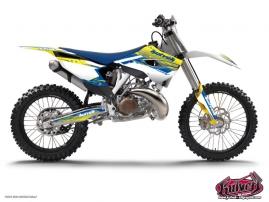 Husqvarna 250 TE Dirt Bike Slider Graphic Kit