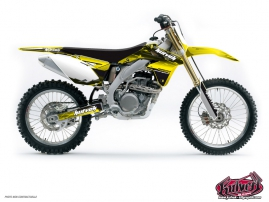 Suzuki 450 RMZ Dirt Bike Slider Graphic Kit