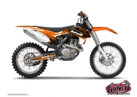 Kit Déco Moto Cross Slider KTM 65 SX Noir