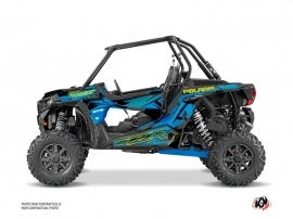 Polaris RZR 1000 Turbo UTV Spectra Graphic Kit Blue