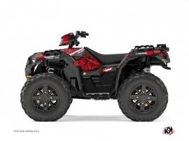 Kit Déco Quad Spin Polaris 1000 Sportsman XP Forest Noir Rouge