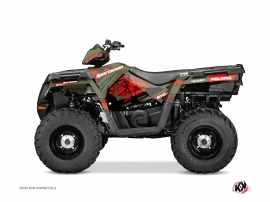 Kit Déco Quad Spin Polaris 570 Sportsman Forest Rouge