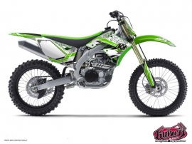 Kawasaki 250 KX Dirt Bike Spirit Graphic Kit