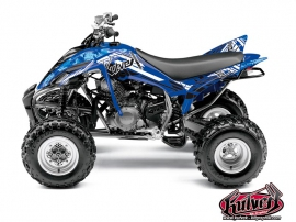 Yamaha 350 Raptor ATV Spirit Graphic Kit Blue
