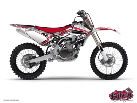 Yamaha 450 YZF Dirt Bike Spirit Graphic Kit Red