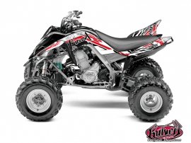 Yamaha 700 Raptor ATV Spirit Graphic Kit Red