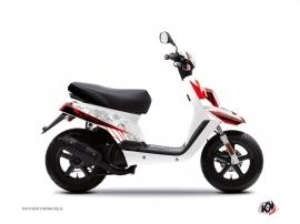 Yamaha BWS Scooter Spirit Graphic Kit White