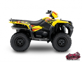 Suzuki King Quad 750 ATV Spirit Graphic Kit
