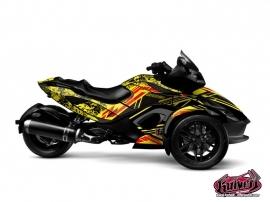 Kit Déco Spirit Can Am Spyder RS Jaune