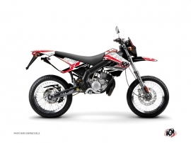 Derbi Xtreme / Xrace 50cc Spirit Graphic Kit Red