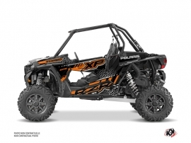 Kit Déco SSV Splinter Polaris RZR 1000 Turbo Noir Orange