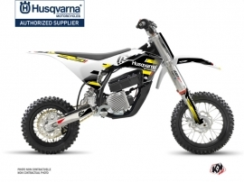 Husqvarna EE-5 Dirt Bike Split Graphic Kit Black Yellow