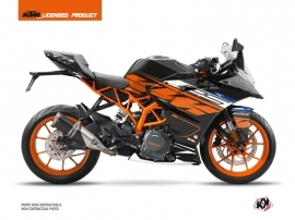 Kit Déco Moto Spring KTM 125 RC Noir Orange