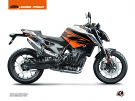 KTM Duke 790 Street Bike Spring Graphic Kit White Orange