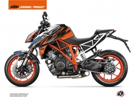 Kit Déco Moto Spring KTM Super Duke 1290 Blanc Orange
