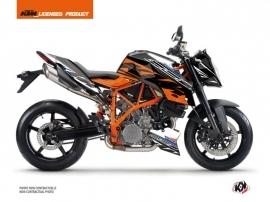 Kit Déco Moto Spring KTM Super Duke 990 R Blanc Orange