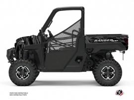 Polaris Ranger 1000 XP UTV Squad Graphic Kit Black Grey