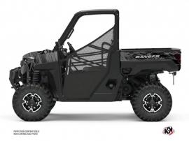 Polaris Ranger Diesel UTV Squad Graphic Kit Black Grey