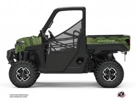 Polaris Ranger Diesel UTV Squad Graphic Kit Green