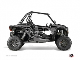Polaris RZR 1000 UTV Squad Graphic Kit Black Grey