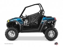 Kit Déco SSV Squad Polaris RZR 800 S Bleu