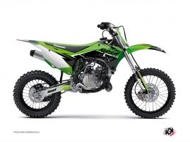 Kit Déco Moto Cross Stage Kawasaki 110 KLX Vert