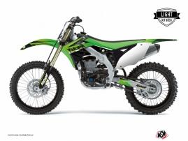 Kit Déco Moto Cross Stage Kawasaki 125 KX Vert LIGHT