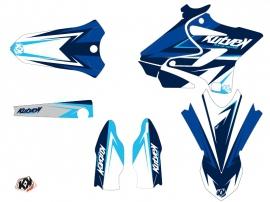 Kit Déco Moto Cross Stage Yamaha 250 YZ Bleu LIGHT