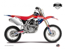 Honda 125 CR Dirt Bike Stage Graphic Kit Blue Red LIGHT
