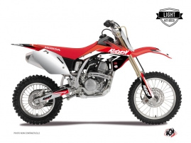 Kit Déco Moto Cross Stage Honda 125 CR Rouge LIGHT