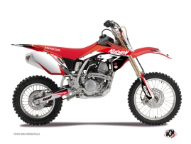 Kit Déco Moto Cross Stage Honda 125 CR Rouge