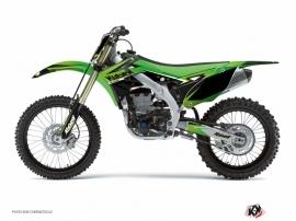 Kit Déco Moto Cross Stage Kawasaki 125 KX Vert