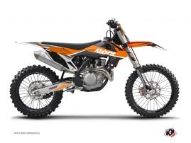 Kit Déco Moto Cross Stage KTM 125 SX Orange