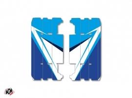 Graphic Kit Radiator guards Stage Yamaha 125 YZ 2015-2016 Blue