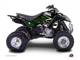 Kymco 300 MAXXER ATV Stage Graphic Kit Black Green
