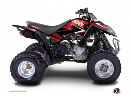 Kymco 250 MAXXER ATV Stage Graphic Kit Red Black