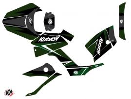 Kymco 250 MXU ATV Stage Graphic Kit Black Green