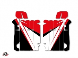Kit Déco Grilles de radiateur Stage Honda 250 CRF 2014-2016 Rouge