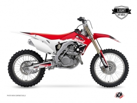 Kit Déco Moto Cross STAGE Honda 250 CRF Rouge LIGHT
