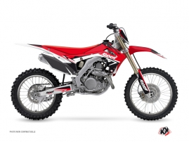 Kit Déco Moto Cross STAGE Honda 250 CRF Rouge