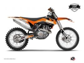 KTM 250 SX Dirt Bike STAGE Graphic kit Orange LIGHT