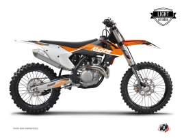 KTM 250 SXF Dirt Bike STAGE Graphic kit Orange LIGHT