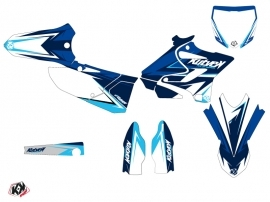 Kit Déco Moto Cross Stage Yamaha 250 YZ Bleu