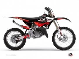 Kit Déco Moto Cross Stage Yamaha 250 YZ Noir - Rouge