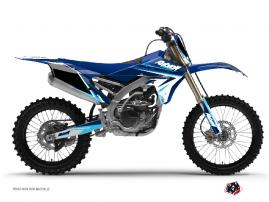 Kit Déco Moto Cross Stage Yamaha 250 YZF Bleu