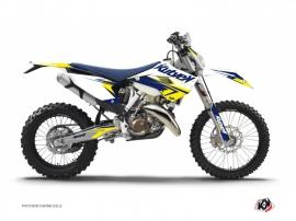 Husqvarna 300 TE Dirt Bike Stage Graphic Kit White Yellow
