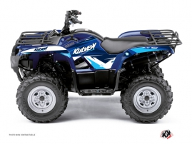 Yamaha 300 Grizzly ATV Stage Graphic Kit Blue