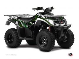Kit Déco Quad Stage Kymco 300 MXU R Noir Vert