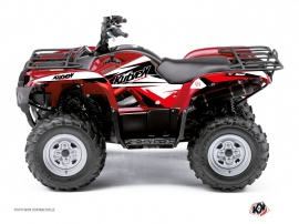 Kit Déco Quad Stage Yamaha 350 Grizzly Noir Rouge